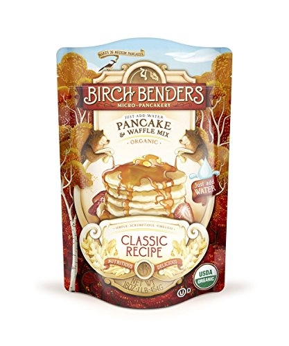 Price comparison product image Organic Pancake and Waffle Mix,  Classic Recipe by Birch Benders,  Whole Grain,  Non-GMO,  16oz