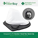 Eureka Quick Up Washable Dust Cup DCF-11 Filter, Part #'s 39657,...