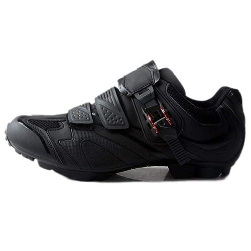 Zapatillas de Ciclismo para Hombre Ciclismo de montaña Transpirable Zapatos Profesionales autoblocantes de montaña Montando Equipos: Amazon.es: Zapatos y ...
