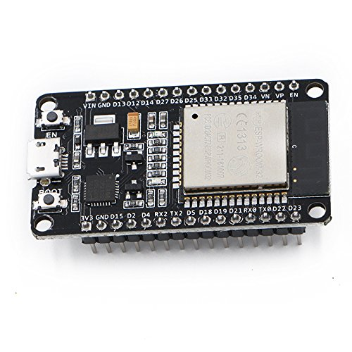 Xiuxin 2pcs ESP32 Development Board 2.4GHz Dual-Mode WiFi + Bluetooth Dual Cores ESP32s Antenna module board for Arduino IDE,Work with Amazon Alexa by Xiuxin (Image #2)