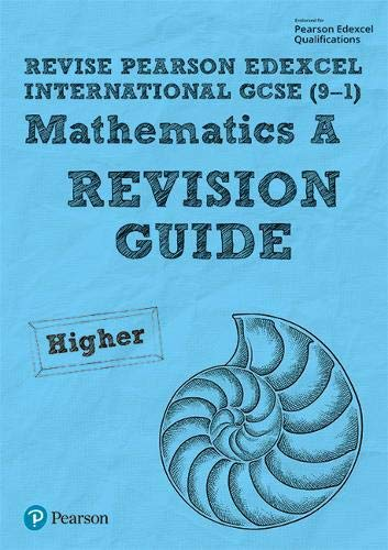 A Revise Pearson Edexcel International GCSE 9-1 Mathematics