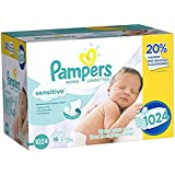 Pampers Wipes 16X Refill, 1024 ct (Old Version)