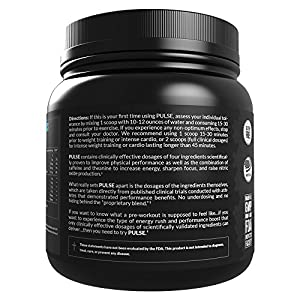 LEGION Athletics Pulse Pre-workout Supplement - Smooth Energy Rush