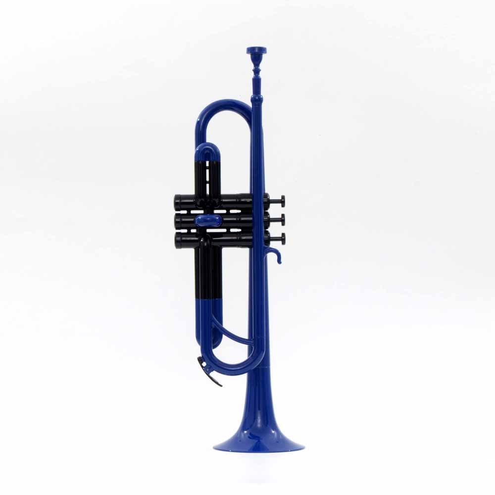 PAMPET ABS Trumpet Plastic Trumpet Bb trumpet (Blue)