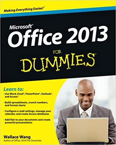 Office 2013 for dummies wallace wang 9781118497159 amazon books office 2013 for dummies 1st edition fandeluxe Image collections