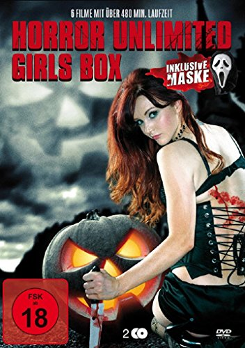 Horror Unlimited Girls Box 2-DVD Set Including a Mask ( 30 Days to Die / The Devil's Rock / Siren / Evangeline / The Other Side of the Mirror ) ( 7 in t [ NON-USA FORMAT, PAL, Reg.0 Import - Germany ]