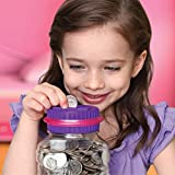 DISCOVERY KIDS Digital Coin-Counting Money Jar with