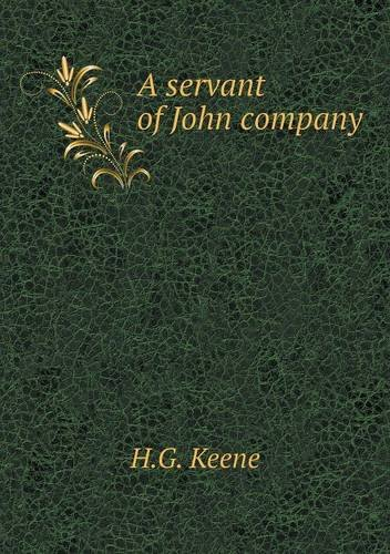 Download A servant of John company pdf