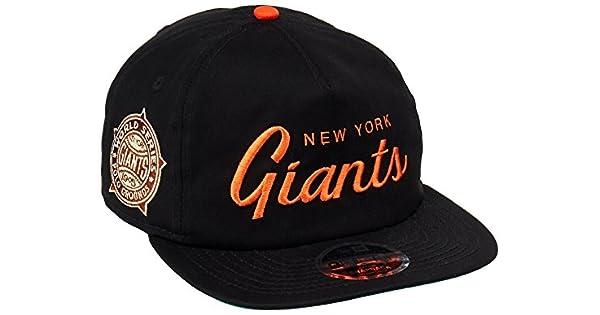 437e1878ebd15 New Era 80468970 Gorra Oficial 9FIFTY New York Giants