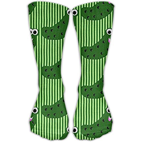 TDGEDSFD Pickles Say Hey Fashion Warm Winter Socks Cotton Crew Socks One Size For Women And (Pickle Costume Pattern)