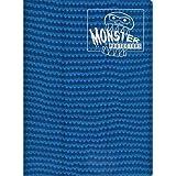 Monster Protectors 9 Pocket Holofoil Aqua Blue Binder Album - Holds 360 Yugioh, Magic, and Pokemon Cards