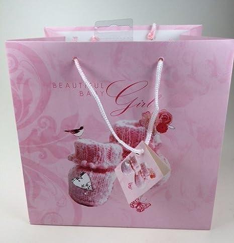 Bebé Bolsa de regalo rosa Pack de tres: Amazon.es: Bebé