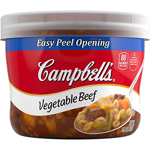 Campbell's Soup, Vegetable Beef, 15.4 Ounce (Pack of 8) (Soup Beef Vegetable)