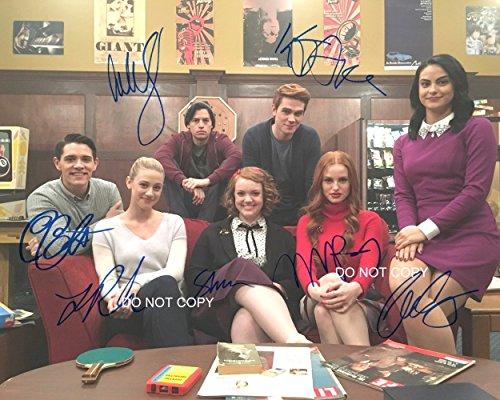 "Riverdale CW TV Show cast Reprint Signed Autographed 8x10"" Photo #2 RP from Loa_Autographs"
