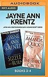 Jayne Ann Krentz/Amanda Quick Arcane Society Series: Books 3-4: Sizzle and Burn & The Third Circle