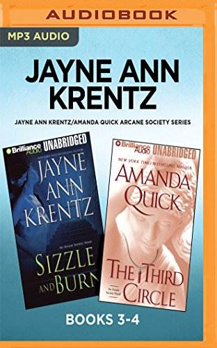 Jayne Ann KrentzAmanda Quick Arcane Society Series Books 34 Sizzle And Burn  The Third Circle pdf epub download ebook
