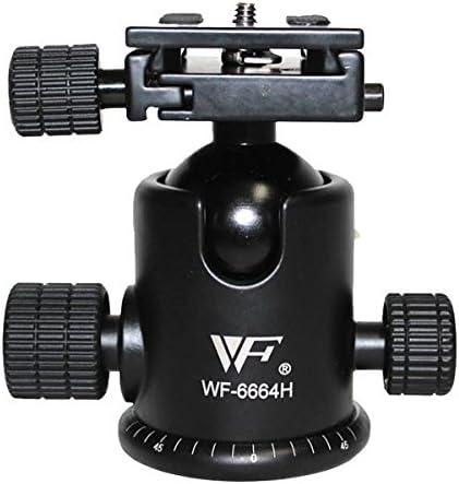 Professional Weifeng Fancier WF-6664H 3//8 Interface Quick Release Ball Tripod Head