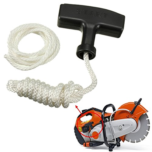 Best to Buy New Chainsaw Strimmer Starter Recoil Pull Handle With Rope & Spare Cord husqvarna chainsaw mill ripping chain worx parts greenworks
