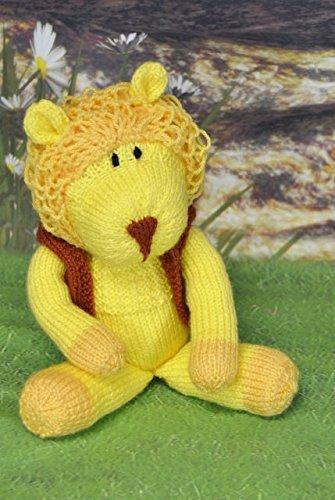 Knitting Pattern Laa La Lion Soft Toy Pattern Amazon