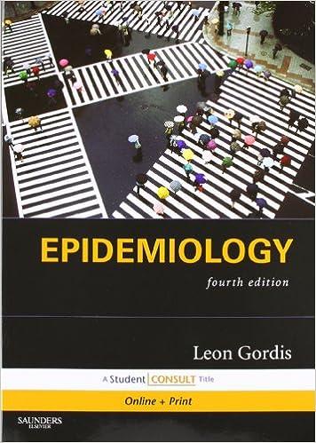 leon gordis epidemiology 4th edition 2009