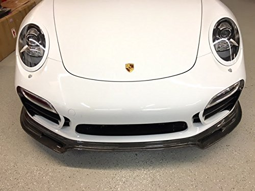 Amazon.com: Porsche 991 Turbo & Turbo S Carbon Fiber front bumper lower Spoiler Valance for Turbo and Turbo S: Automotive