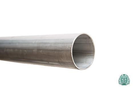 Tubo de acero inoxidable Ø 25 x 1,3 mm-101,6 x 2 mm 1.4509 ...