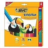 BIC Evolution Colores Cajilla 26 piezas