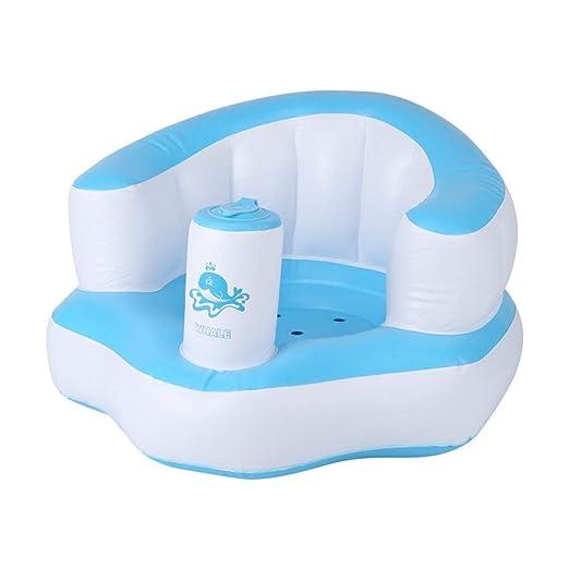 Asiento Inflable para Bebé Asiento De Baño Bañera Infantil Aprenda ...