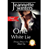 One White Lie, SWEET Version: Barrington Billionaire's Series: Book One (Barrington Billionaire's Sweet Series 1)