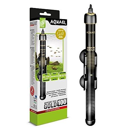 Calefactor Termoriscaldatore Comfort Zone Gold AquaEL 100 W acuario: Amazon.es: Hogar