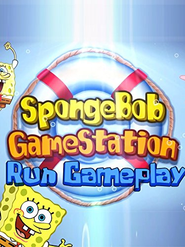 SpongeBob Game Station Run Gameplay
