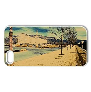 Albuquerque New Mexico LDS Temple Watercolor style Cover iPhone 5 and 5S Case (New Mexico Watercolor style Cover iPhone 5 and 5S Case)