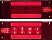 Optronics TLL170RK Red Rectangular Combination Tail Light Kit