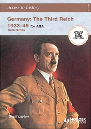 Book Access to History: Germany: The Third Reich 1933-1945 for AQA 3rd Edition: The Third Reich 1933-45