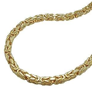 ASS oro doble cadena de corte cadena 45 cm plateado joyería