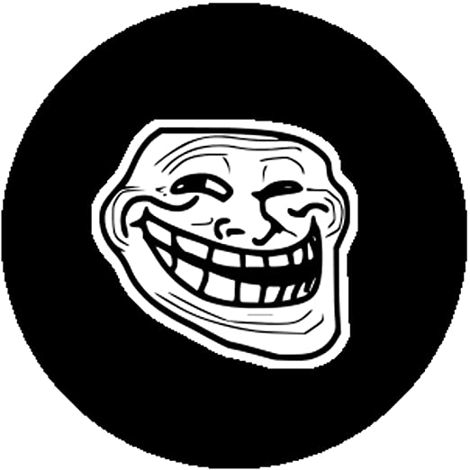 512J OR T4L._UX522_ amazon com badge button pin troll face trollface coolface cool