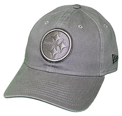 New Era Pittsburgh Steelers NFL 9Twenty Classic Tonal Adjustable Graphite Hat by New Era