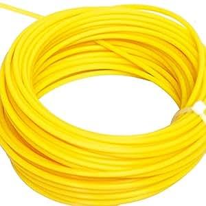 Cable de repuesto para desbrozadora redondo mm, 1,6 x 15 mt