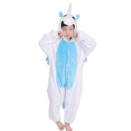 LUOEM Pijama Unicornio Niños Disfraz Animal Carnaval y ...