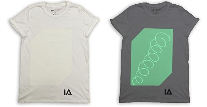 Amazon.com: Camiseta interactiva de Draw con luz que brilla ...