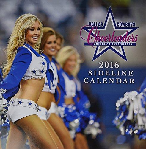 Dallas Cowboy Cheerleaders 2016 Calendar -