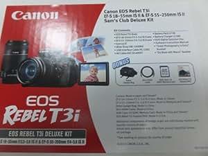 Canon T3i 18.0MP Digital SLR Value Bundle 322501 5169B034
