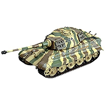 Easy Model King Tiger s.SS-Pz.ABT.505 Die Cast Military Land Vehicles: Toys & Games