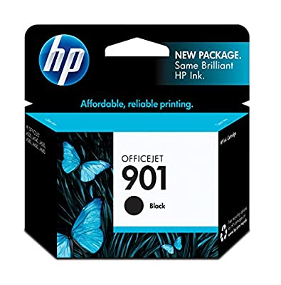 HP 901 Black Original Ink Cartridge (CC653AN) by HP