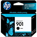 HP 901 (CC653AN#140) Black Original Ink Cartridge