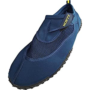 Norty - Mens Big Aqua Water Shoe, Navy 39451-14D(M)US
