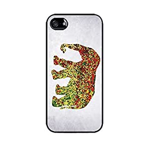 Elephant fulcolor vintage - Hard plastic case for iphone 4S