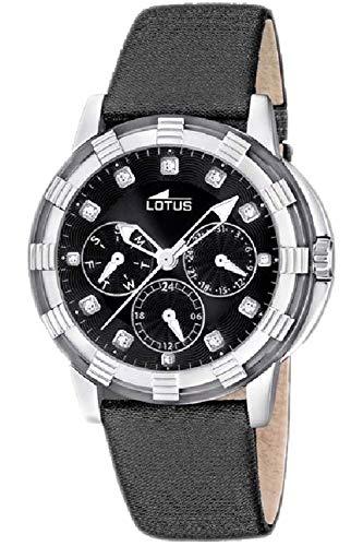 Lotus Glee Womens Analog Quartz Watch with Leather Bracelet 15746/G