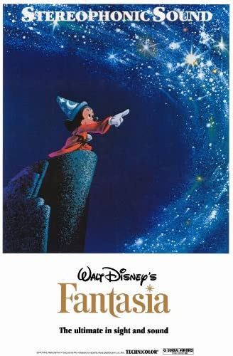 Amazon Com Fantasia Poster Movie 27 X 40 Inches 69cm X 102cm 1940 Style B Posters Prints