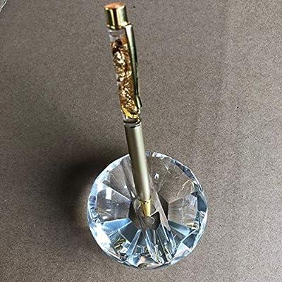 Amazon.com: Soporte para bolígrafos de cristal con bolígrafo ...